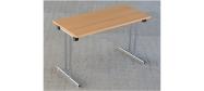 Fumac klapborde serie 1500 størrelse 120 x 60 cm. Et klapbord der er ideel til konference, kantine mm. Disse klapborde kan stables. Der ydes 5 års garanti på bordene.