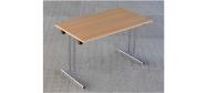 Fumac klapborde serie 1500 størrelse 120 x 70 cm. Et klapbord der er ideel til konference, kantine mm. Disse klapborde kan stables. Der ydes 5 års garanti på bordene.