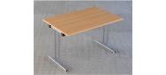 Fumac klapborde serie 1500 størrelse 120 x 80 cm. Et klapbord der er ideel til konference, kantine mm. Disse klapborde kan stables. Der ydes 5 års garanti på bordene.