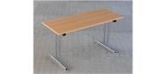 Fumac klapborde serie 1500 i størrelse 140 x 60 cm. Fås i ahorn, bøg, hvid eller lysgrå. Disse klapborde kan stables og der ydes 5 års garanti.