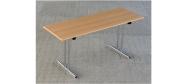 Fumac klapborde serie 1500 i størrelse 160 x 60 cm. Fås i ahorn, bøg, hvid eller lysgrå. Disse klapborde kan stables og der ydes 5 års garanti.