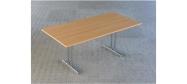 Fumac klapborde serie 1500 størrelse 180 x 90 cm. Bordet er det største klapbord Fumac producerer og fås i lys grå, ahorn, bøg eller hvid. Der kan monteres hjul på disse klapborde. Der ydes 5 års garanti på bordene.