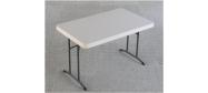 Lifetime plastbord 122 x 76 cm. Lifetime giver 10 års garanti på dette klapbord.