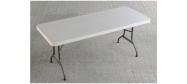 Klapborde Lifetime plastbord 183 x 76 cm. Lifetime giver 10 års garanti på dette klapbord.