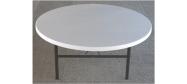 Klapborde Lifetime Ø182 cm. Lifetime giver 10 års garanti på dette klapbord.