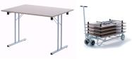 klapborde Standard fås i mange størrelser. 5 års garanti. Vi giver gerne et godt tilbud på disse klapborde.