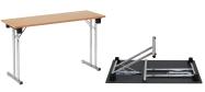 Klapborde 45 x 120 cm. ideel til eksamensbrug. Vi giver gerne et godt tilbud på disse klapborde.