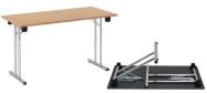 Klapborde 60 x 120 cm. ideel til eksamensbrug. Vi giver gerne et godt tilbud på disse klapborde.