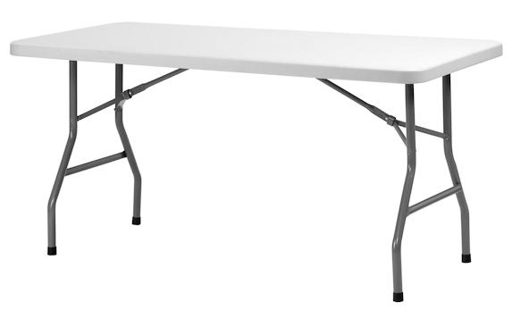 Klapborde ZOWN XL150  76 x 153 cm. plastbord.